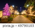 マリンタワー 横浜 イルミネーションの写真 49790103