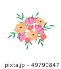 花束 フラワー 花のイラスト 49790847