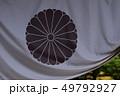菊の御紋 垂れ幕 49792927