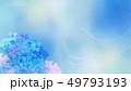 和-和紙-和風-和柄-水彩-梅雨-紫陽花-背景 49793193