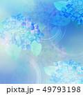 和-和紙-和風-和柄-水彩-梅雨-紫陽花-背景 49793198