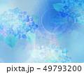 和-和紙-和風-和柄-水彩-梅雨-紫陽花-背景 49793200