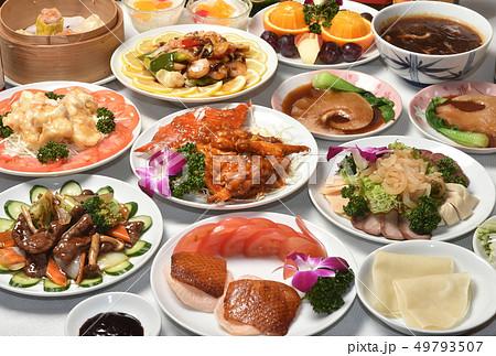 中華料理 集合 49793507