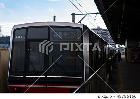 尾張瀬戸駅と名鉄瀬戸線4000系 49796166