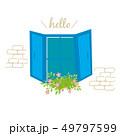 窓 花 ベクターのイラスト 49797599