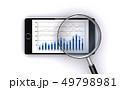 スマートフォンでビジネス資料をチェックする 49798981