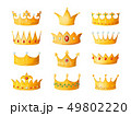 マンガ クラウン 冠のイラスト 49802220