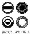 バッジ 記章 徽章のイラスト 49803633