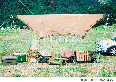 キャンプサイト 49803635