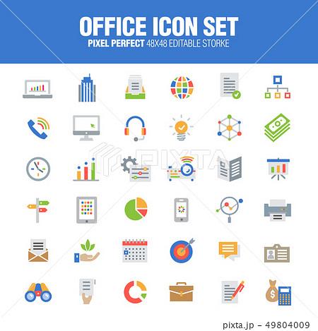 Office Icon Set 49804009