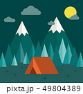 Forest Camping Background 49804389