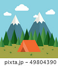 Forest Camping Background 49804390