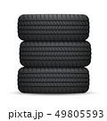 タイヤ ホイール 車輪のイラスト 49805593