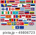 旗 フラッグ フラグのイラスト 49806723