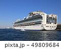 船 客船 停泊の写真 49809684