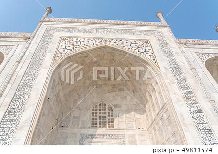 タージ・マハルの墓廟の外観 49811574