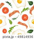 たまご 卵 玉子のイラスト 49814936