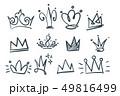 doodle set of crowns 49816499