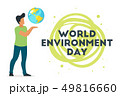 World environment day concept 49816660