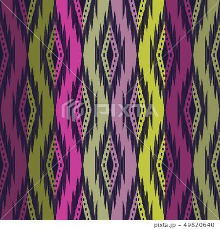 Tribal seamless background. 49820640