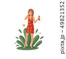 化粧 化粧品 美容のイラスト 49821352