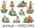 化粧 化粧品 美容のイラスト 49821362