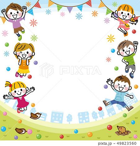 子供たちのフレーム 49823560