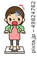 妊婦さん 体重増加 49824762