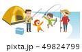 家族 魚釣り 49824799
