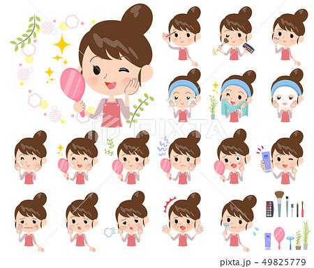 Ballet Bun hair Apron mom_beauty 49825779