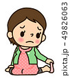 妊婦さん 靴下が穿きにくい 49826063