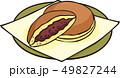 ベクター お菓子 和菓子のイラスト 49827244