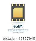 Embedded sim icon 49827945