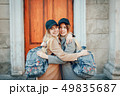 女の子 女性 袋の写真 49835687
