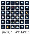 天気 気象 天候のイラスト 49844962
