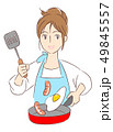 ベクター 女性 主婦のイラスト 49845557