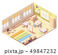 Vector Kindergarten Classroom 49847232
