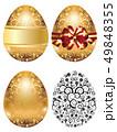 たまご 卵 金のイラスト 49848355