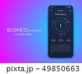 インフォグラフィック モバイル デジタルのイラスト 49850663