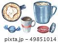 食 料理 食べ物のイラスト 49851014