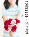 女性 子供 女の子の写真 49858001
