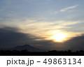 筑波山 877m 日の出 太陽 朝 風景 関東 下妻 山岳 夜明け 49863134