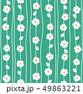 抽象的な花柄, 49863221