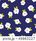 抽象的な花柄, 49863227