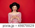 スマフォ スマホ スマートフォンの写真 49870029