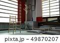 立体 3D 3Dのイラスト 49870207
