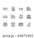 組み合わせ サイエンス 理科のイラスト 49875463