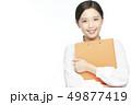 女性 コピースペース ビジネスの写真 49877419