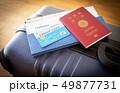 スーツケース 海外旅行保険付クレジットカード 旅行 出張 パスポート 49877731