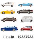 自動車の側面一ラスト 49883588